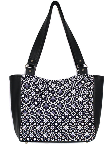 SMALL TOTE BAG - DOT AND DASH
