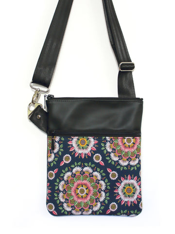 SMALL ZIP-IT - DELPHINE - HANDMADE VEGAN BAG