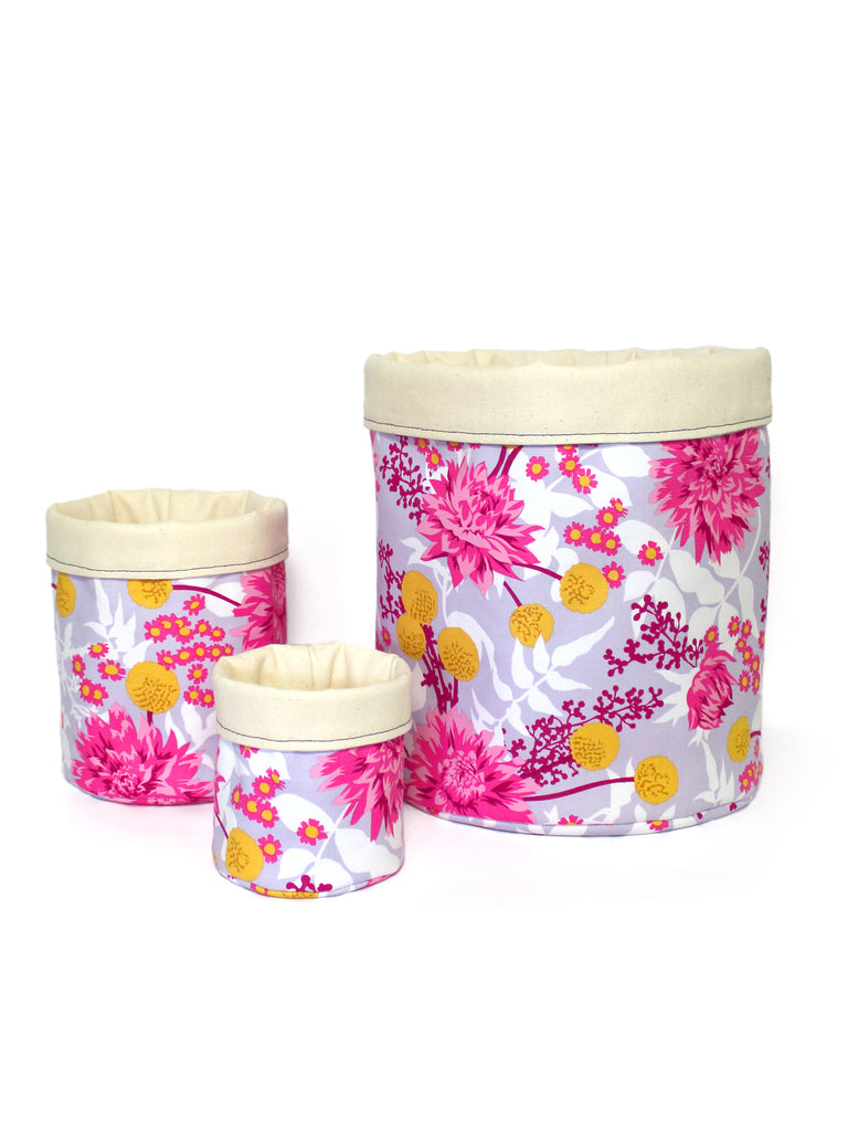 Storage Pod Set - Dahlias