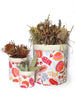 Storage Pod Set - Native Flora White