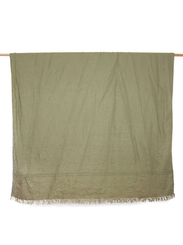 Lightweight Throw - Sage Linen