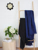 Lightweight Throw - Navy Linen