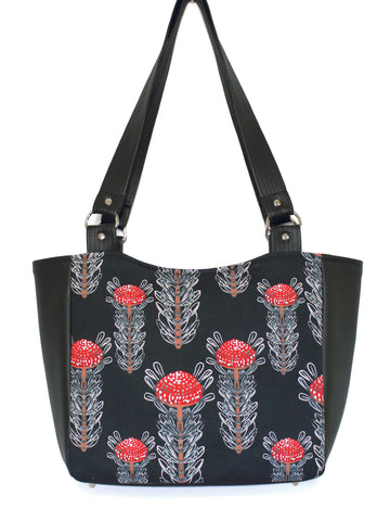 SMALL TOTE BAG - WARATAHS - HANDMADE VEGAN BAG