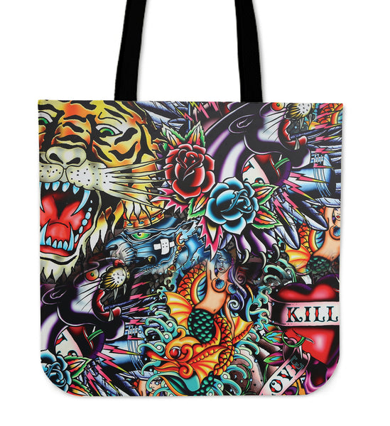 TATTOO ART - TOTE BAG