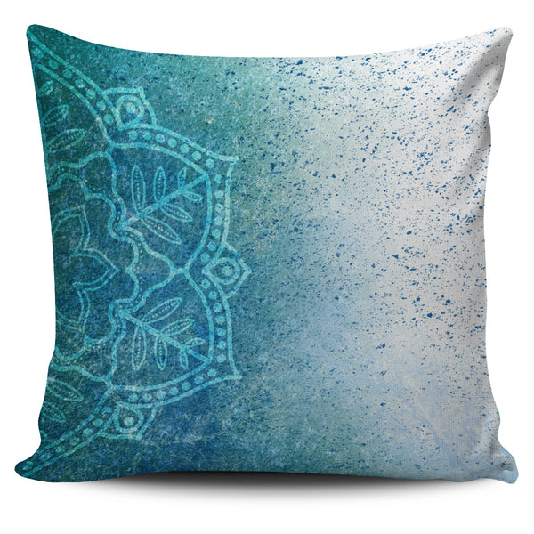 MANDALA BLUE - PILLOW COVER