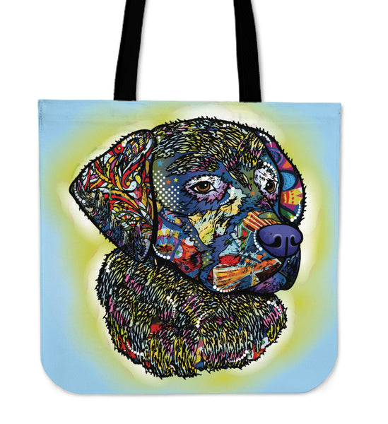 BLUE DOG - TOTE BAG