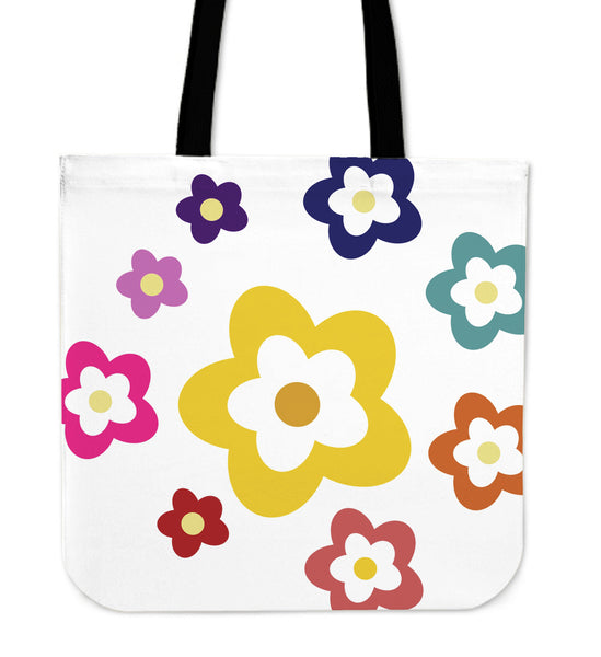 RAINBOW FLOWER - TOTE BAG