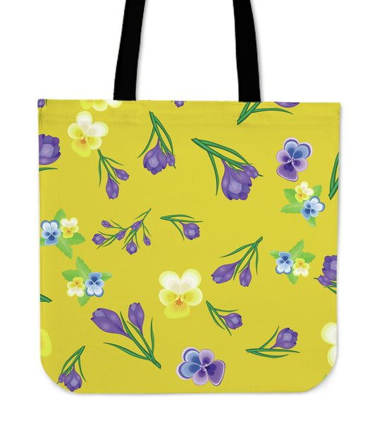 YELLOW FLOWER - TOTE BAG