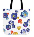 PANSY FLOWER - TOTE BAG