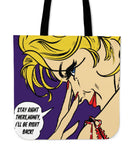 BE RIGHT BACK - TOTE BAG