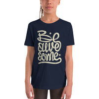 BE AWESOME - YOUTH S/S TEE