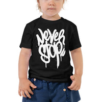 NEVER STOP - TODDLER S/S TEE