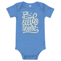 BE AWESOME - BABY ONE PIECE