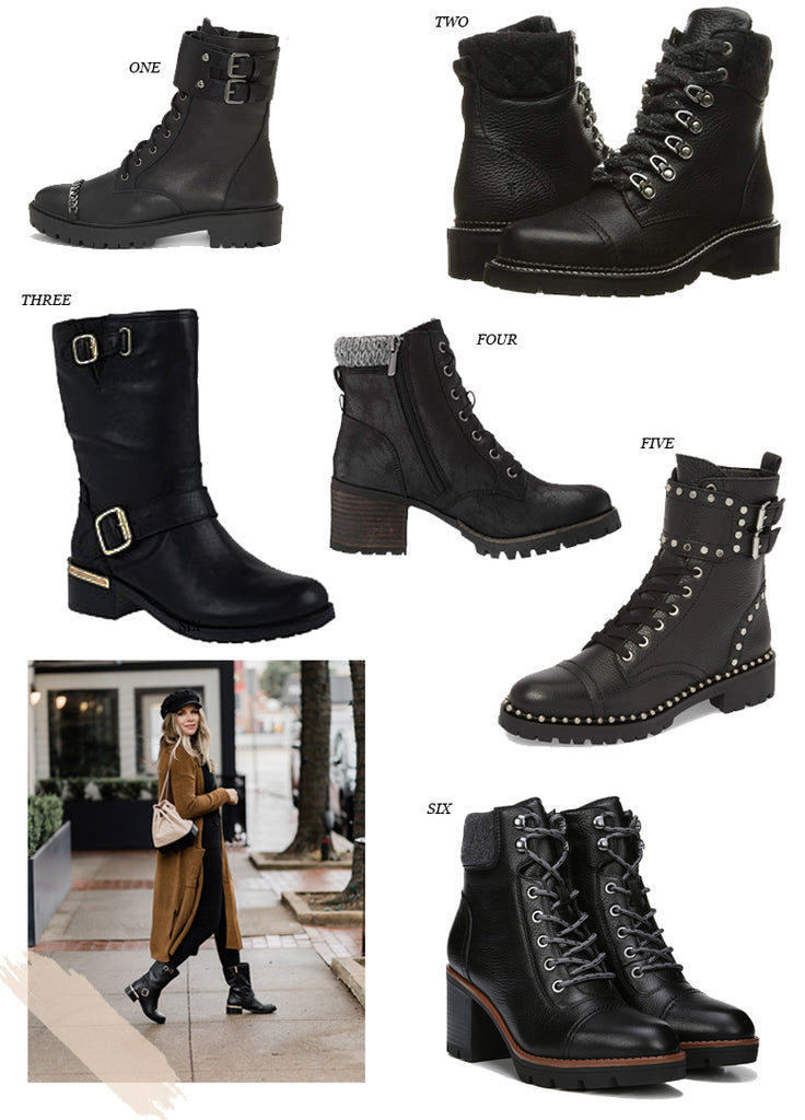 Trending For Fall: Combat Boots