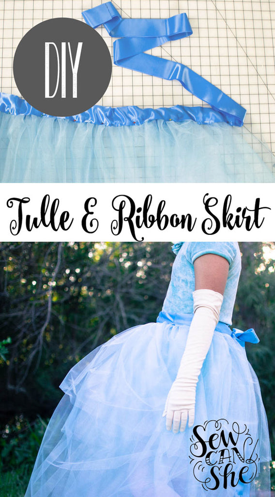 This year my daughter asked me to make her a Cinderella Costume for Halloween