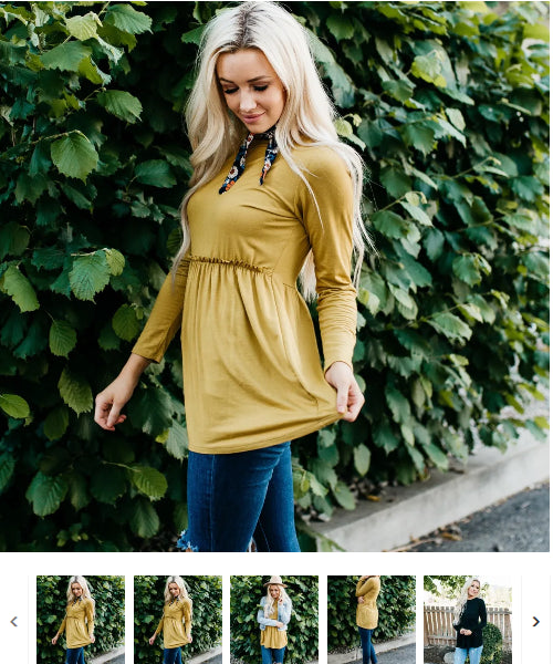 Order Here–> Cute The Matti Top | 7 Colors for $21.99 (was $29.99) 2 days only.
