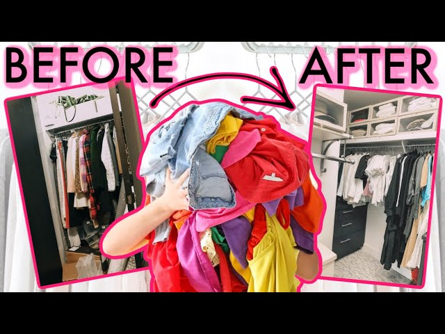 Now that you've purged and edited your closet, I'm sharing tips on how you can organize it! Thank you so much for watching
