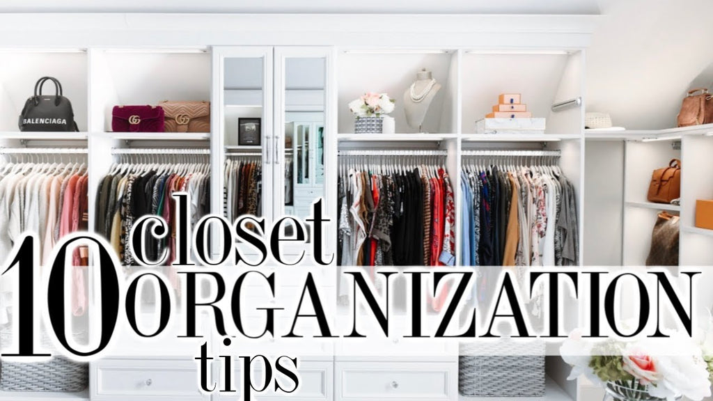 10 Clever Closet Organization Ideas That Will CHANGE YOUR LIFE! All items mentioned are linked below…just click SHOW MORE! I hope you enjoy this video ...