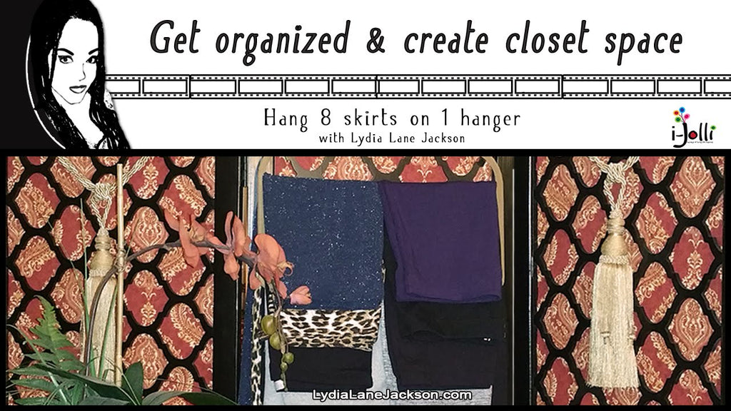 How to hang 8 skirts on 1 hanger Click link to get more about hanger