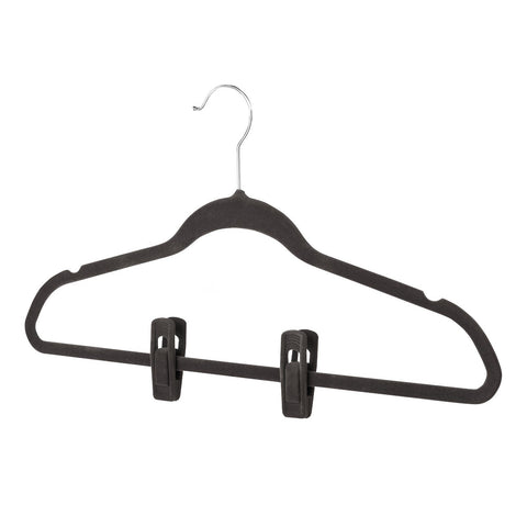 Hanger Clips - Set of 12 - Black - 75% OFF