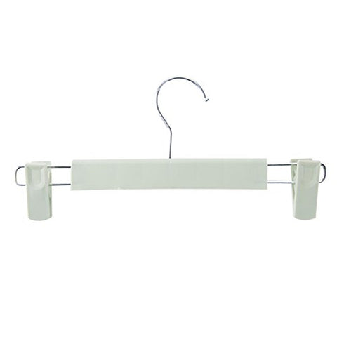 Kexinfan Hanger Plain Plastic Trousers Frame Wind Trousers Trousers Clip Home Non-Slip Pants Clip Trousers Hanging Hanger Storage Pants Rack, Light Green