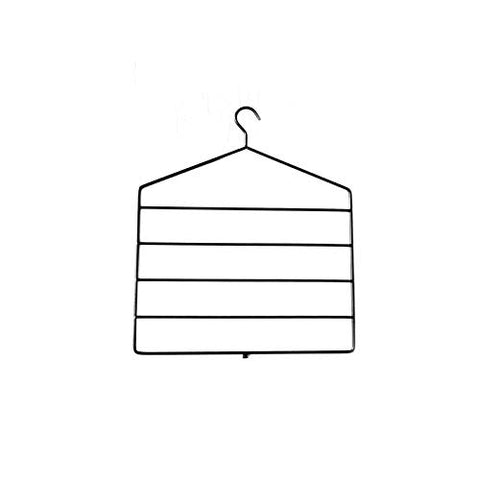 Xyijia Hanger 2Pcs/Lot Multifunctional Hook Hanger Pants Metal Multi-Layers Storage Rack Clothes Hanger Clothes Closet Organize Storage Rack