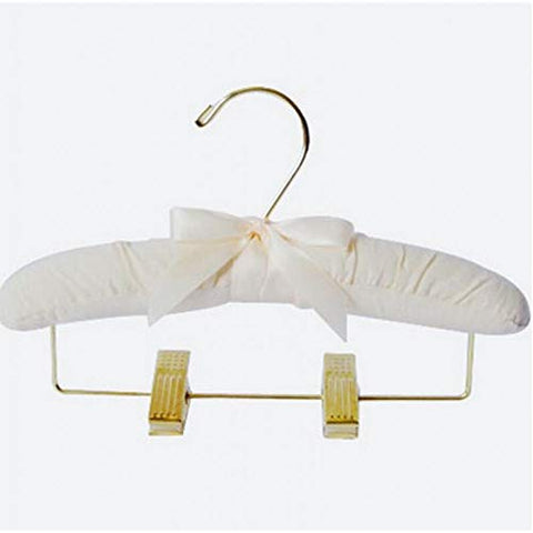 Xyijia Hanger 5 Pcs/Lot 25Cm Children's Cloth Hangers Gold Trousers Clips Baby Hanger Clothes Rack