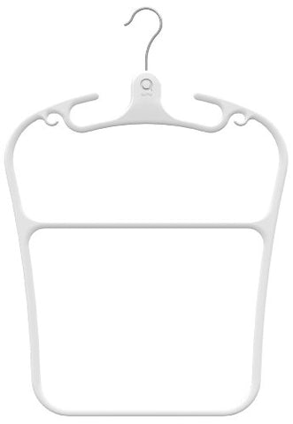 Quirky CTR-1-WHT Contour Multi-Tiered Hanger (Set of 2)