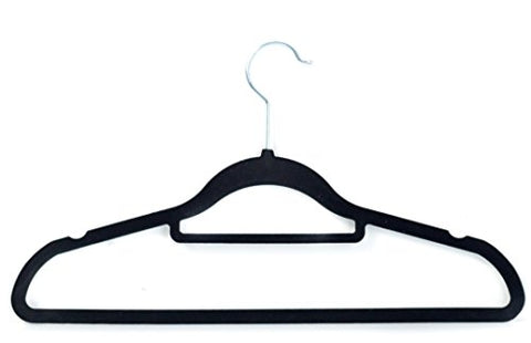 Velvet Suit Hangers with Extra Tie Bar - (Pack of 50)