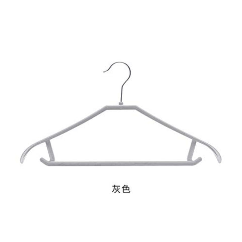 Xyijia Hanger Clothes Rack Household Wide Shoulders, No Trace Clothes Hanger Wardrobe Clothing Plastic Hook Clothes Rack Antiskid Clothes Hanger