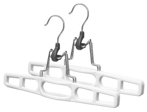 Whitmor Slack Clamp Hangers, S/2