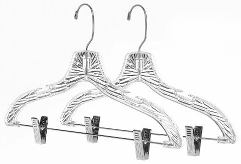 Whitmor Suit Hangers with Clips Set of 2