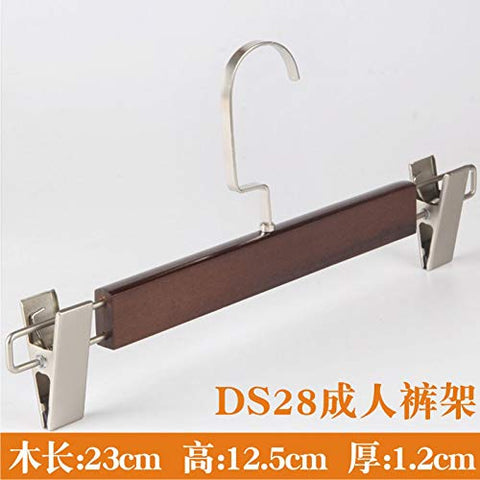 Xyijia Hanger Retro Wooden Clothes Hanger Adult Clothes Shop Men's Wear, Women's Wear Wooden Wooden Clothes Rack