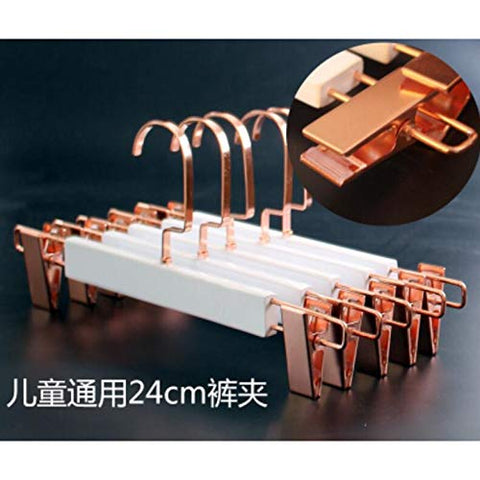 Xyijia Hanger 10Pcs/Lot 44.5Cm/30Cm/Custom White Solid Wood Clothes Stand Adult Male and Female Children Wooden Anti-Skid Hanger