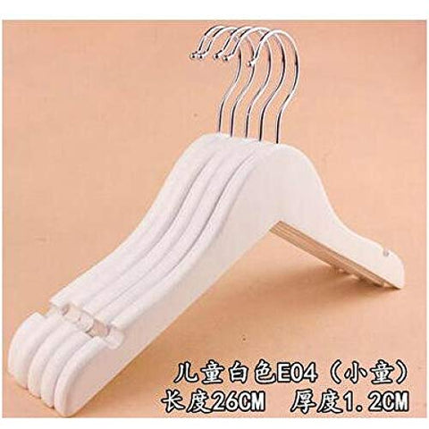 Xyijia Hanger 10Pcs/Lot 26Cm Solid Wood Children Hanger Clothes Rack Baby Hangers for Clothes Hanger