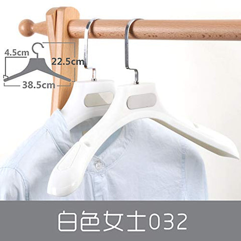 Xyijia Hanger Thickening Slip Proof Shoulder Protection Plastic Hangers Men's Women's Overcoat Load Bearing Good Seamless Suits