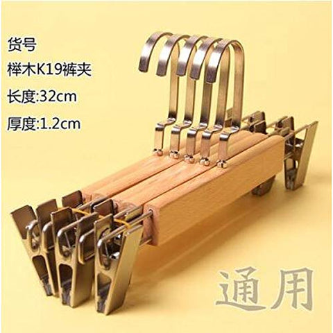 Xyijia Hanger 5Pcs/Lot Wooden Hangers for Clothes Rack Children and Adult Wood Hanger