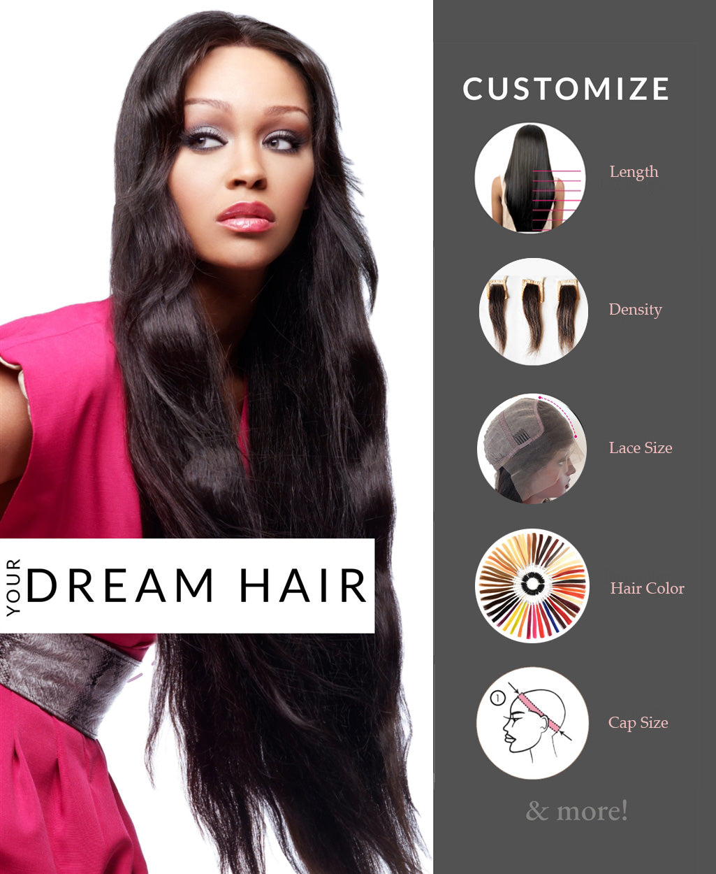 Customize Your Dream Hair with ReadyWig