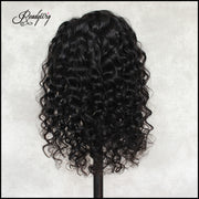 ReadyWig Black Loose Deep Human Hair 13*6 Lace Wig 16 Inches