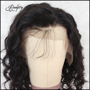 the best quality black color Lace Front Human Hair Wigs With Baby Hairs