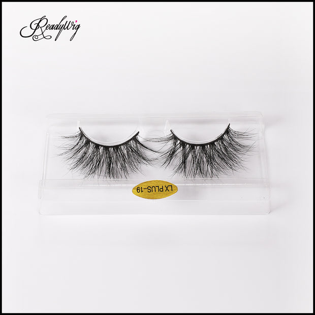 Winged-looking 5D Mink eyelashes