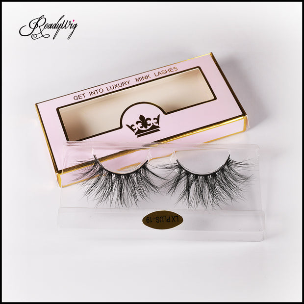 5D mink lashes suitable for all eye shapes
