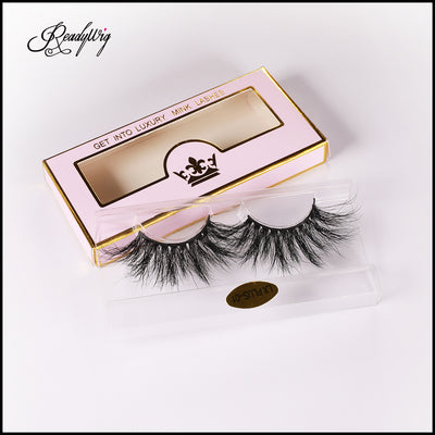 best mink eyelashes with ultra-spikey look