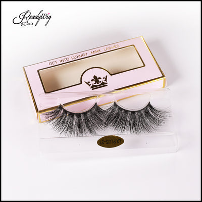 Extra-long 5D Mink eyelashes