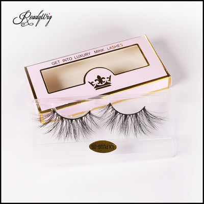 Slightly-dense 5D Mink Lashes