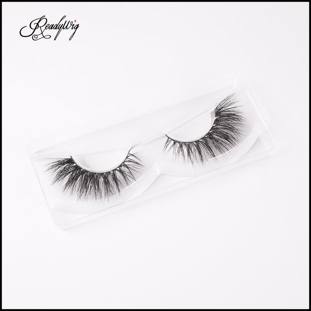 wispy lashes with natural-looking length and density