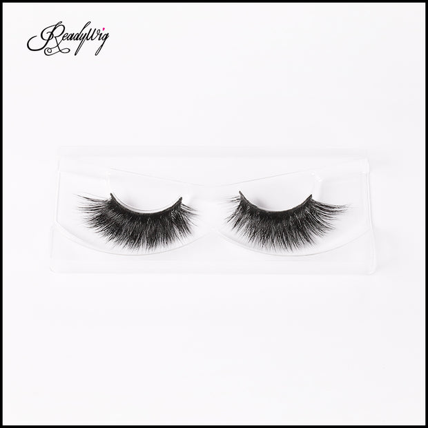 100% mink eyelashes with 3D effect