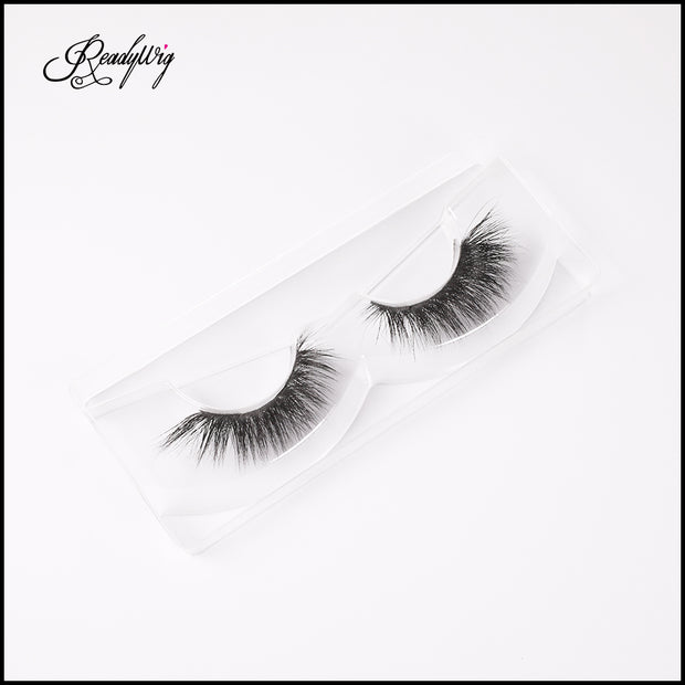 densely wispy, full false eyelashes
