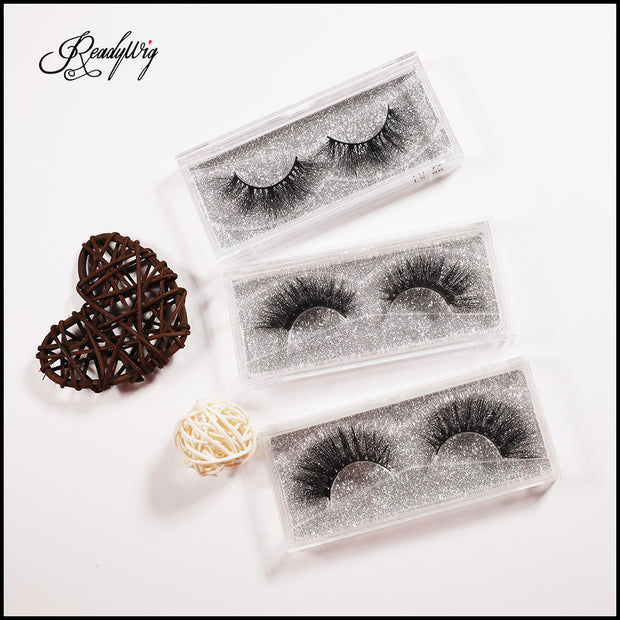 dense full lashes with natural length