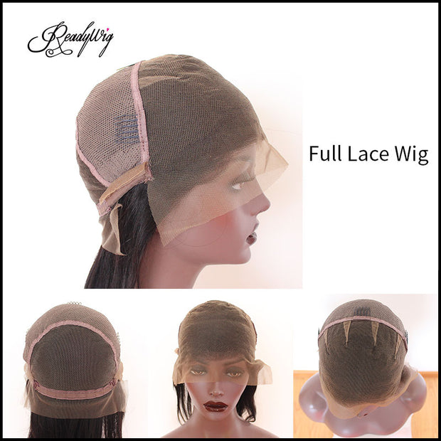 """adjustable hair net breathable and durable lace capless wig with secure combs invisible lace front wig"""